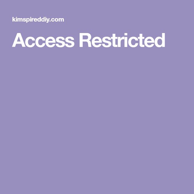 Access Restricted  847f3f3ed3
