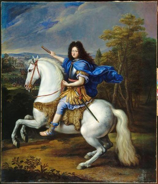 Philippe de France, duc d'Orleans, Monsieur (1640-1701), third quarter 17th century by Pierre Mignard (1612-1695) (Versailles)