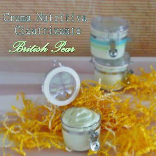 Gluu- Handmade Beauty Shop: Cremas Cicatrizante con Pantenol de British Pear