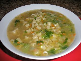 Chef JD's Comfort Cuisine: Zuppa di Scarola e Ditali