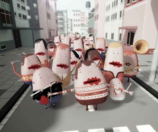 Job, Joris & Marieke create disturbingly great animated short set in a world populated with people without mouths.