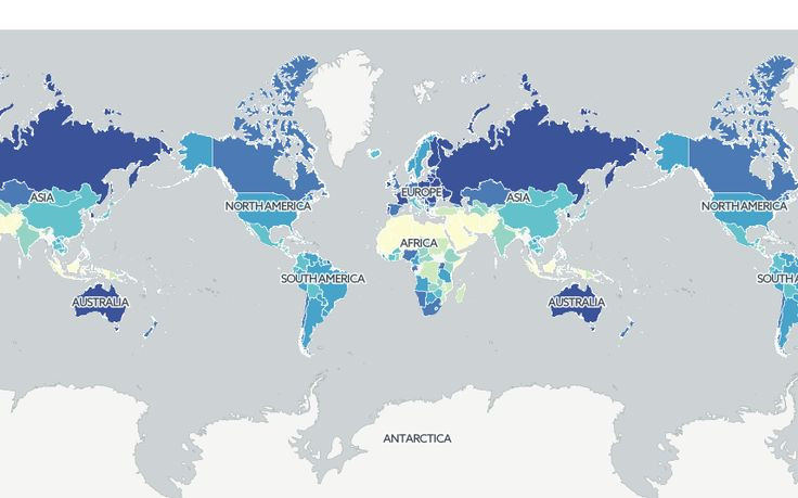Mapped: The world's booziest countries - Telegraph