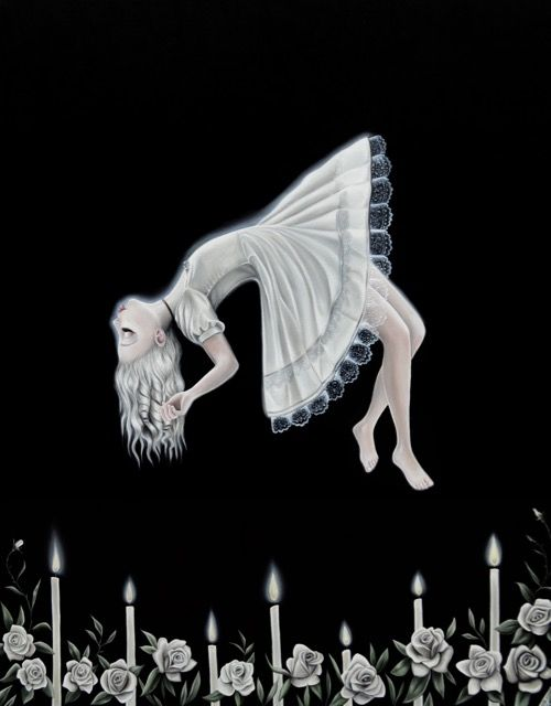 Levitate Me, the exorcist, possession, floating, witch, Art, Magic, Artist Autumn