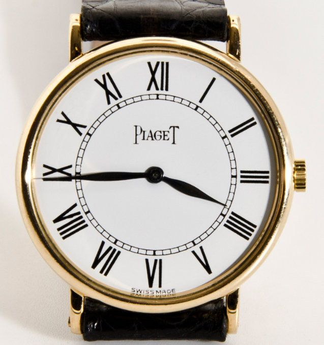 Catawiki online auction house: Piaget Classic Vintage 18 kt – Men's watch