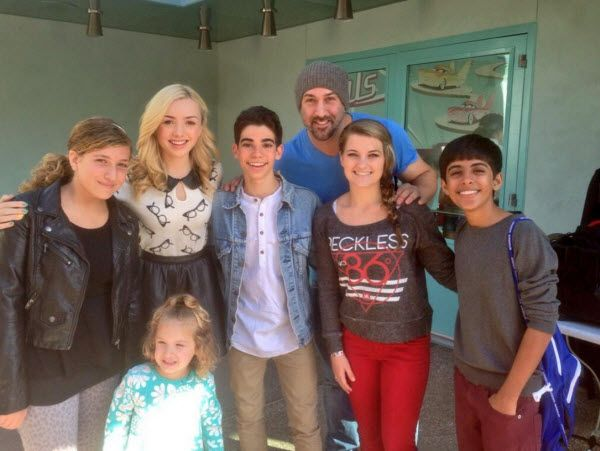cameron boyce and his real family