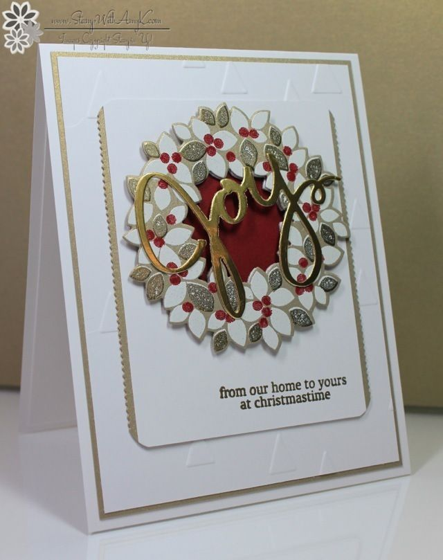 Wondrous Wreath - Stamp With Amy K Stampin' Up!