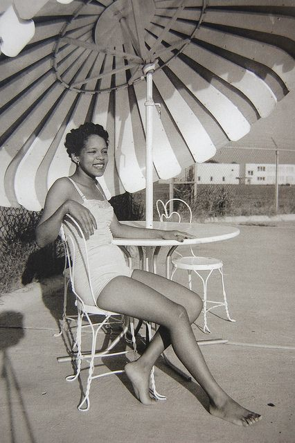 A Young Beauty Relaxing On A Summer Day In Greenwood, Mississippi