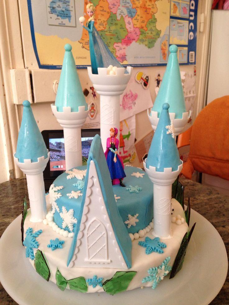 Gâteau: La reine des neiges