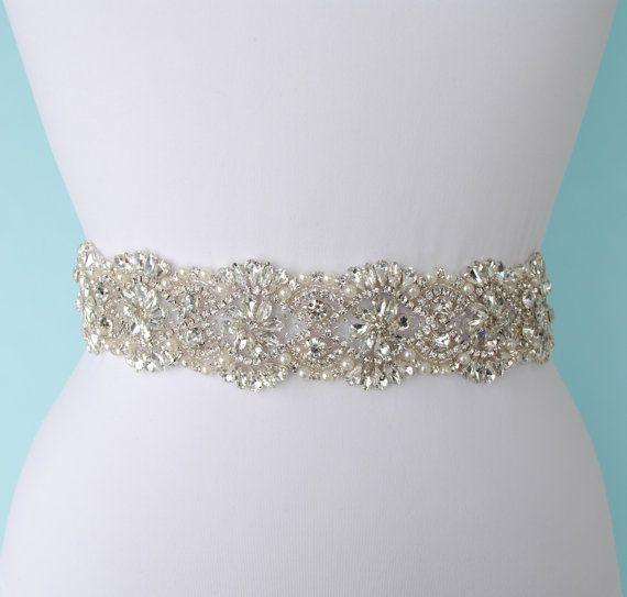 Sale Bridal Belt Bridal Dress Belt Sash by HeirloomBridalBoutiq