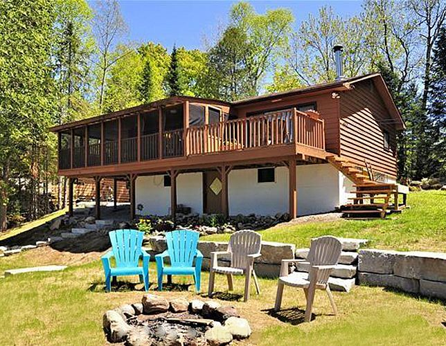 This cottage is comfortable and fabulous for a family. Gooderham Lake 10 cottage is located on Gooderham Lake, that is located at the southern end of Haliburton Highlands. Sleeps a maximum of 8, screened in sunroom, pets permitted. More details on the web page