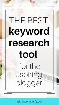 My favourite and best keyword research tool for the aspiring blogger. Sign up today for your free account and receive 3 FREE keyword searches every day forever!