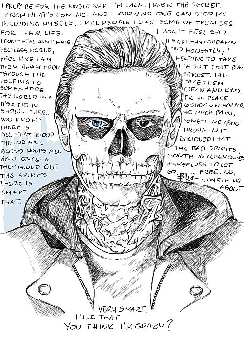 Tate from AHS and his speech. done in SAI