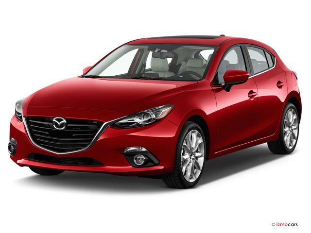 2016 Mazda Mazda3: Angular Front