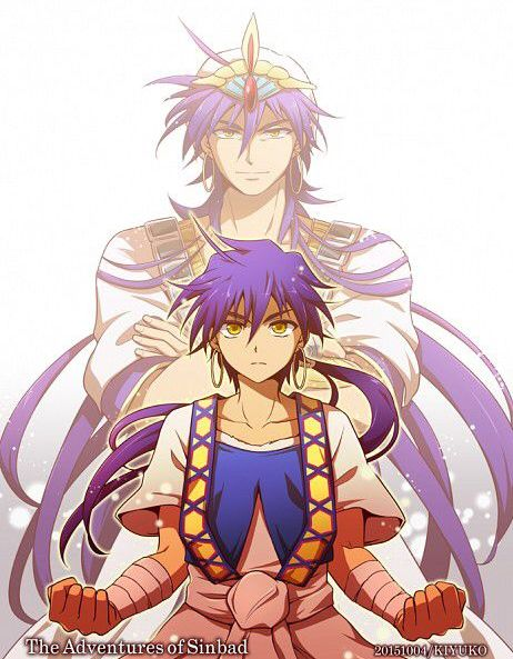 Magi Labyrinth of Magic Sinbad