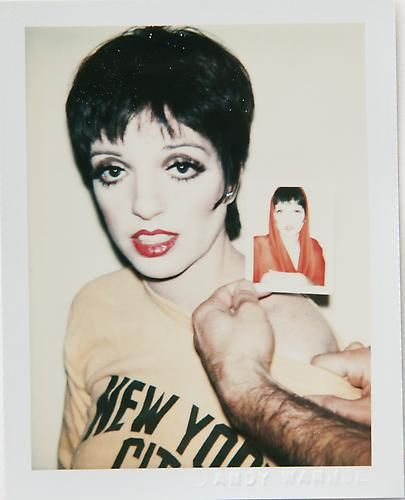Andy Warhol, LIZA MINELLI. ©The Andy Warhol Foundation for the Visual Arts, Inc/ Danziger Gallery