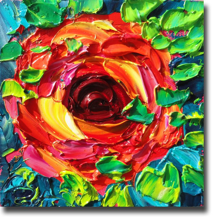 18 best images about impasto on pinterest white flowers for Painting on black canvas tips