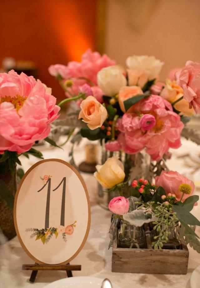 Centerpieces Rustic Elegance Wedding