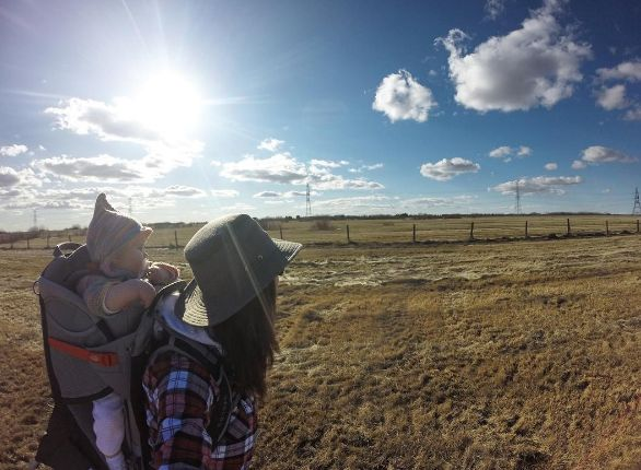 Lisa W. loves exploring the world with her family and Tilley hat #tilleylife