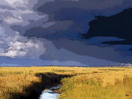 'Marschland' von Dirk h. Wendt bei artflakes.com als Poster oder Kunstdruck $18.03