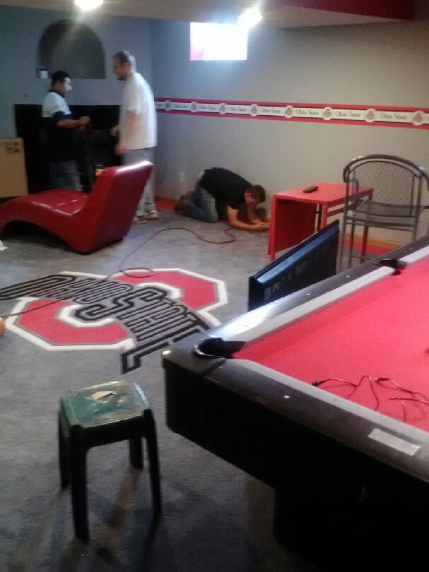 Ohio State game room