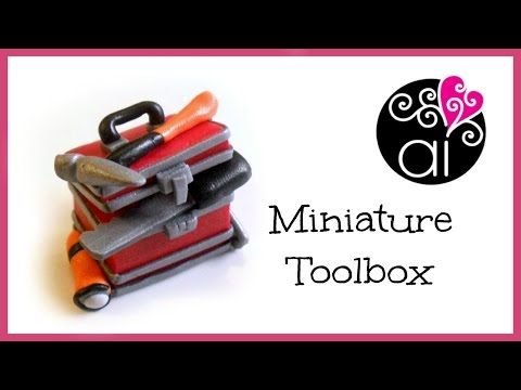 ▶ Miniature Toolbox Tutorial | Miniatura Cassetta degli Attrezzi | DIY Craftsman's Tools - YouTube