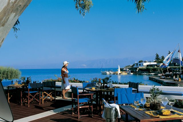 #Restaurant #Ariadne at #EloundaBayPalace: #restaurants #elounda #crete, #seaside #tavern