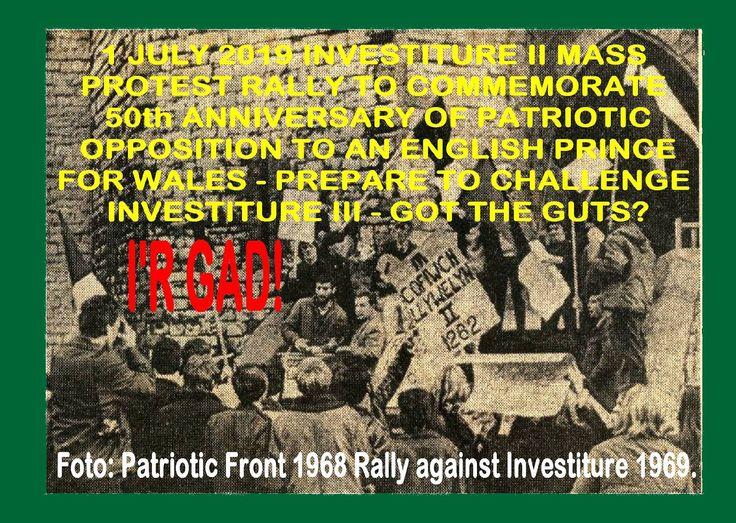 A Historical Archive of material regards the National Consciousness raising movement COFIWN from 1972 - 1986. This Blog Platform also Continues Cymric Consciousness Campaigning in theory and reports of related events and activities in present times also looking to the future of this Patriotic Struggle in Wales.