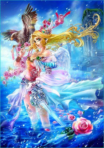 Fukami - Buscar Con Google  Anime Mermaid, Fairy Art -5008