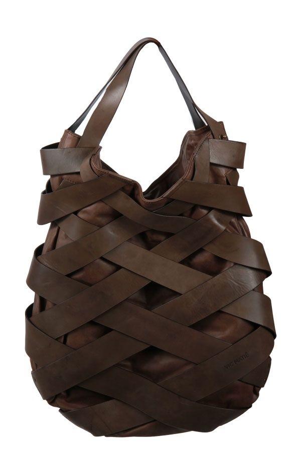 Hergarenk  kahverengi  çanta