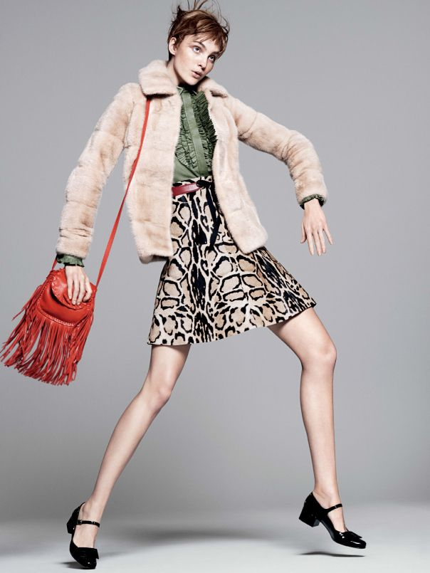 liking the shoes __ Fall 2014 fashions for Vogue US