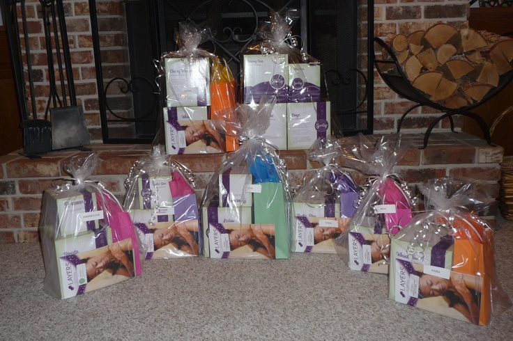 Customers Scentsy orders wrapped with love.