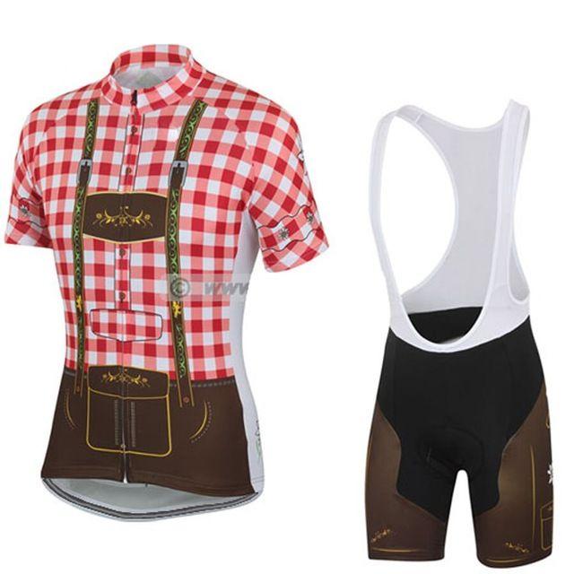 Los NUEVOS Hombres del EQUIPO de Carreras de ciclo jersey bike wear ropa Ciclismo Conjuntos de ciclismo MTB/CARRETERA Sportwear aire Respirable 3D Gel de Naranja Pad