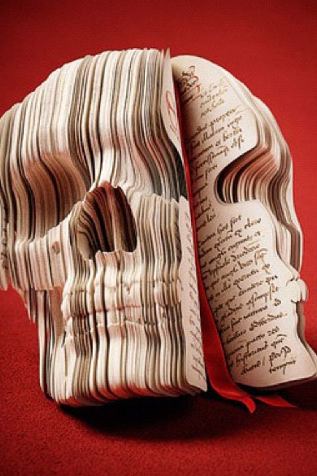 Skull Book Sculpture / The Adventurers Diary: Souverein