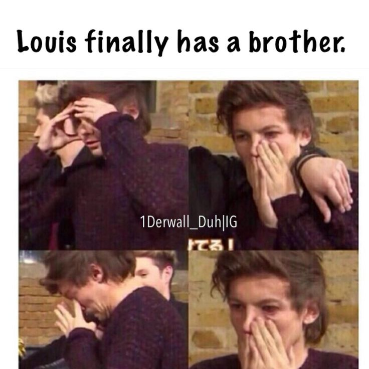 Dori and Ernest. Louis's new siblings. Louis finally has a brother. Louis Tomlinson.