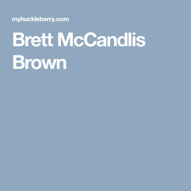 Brett McCandlis Brown;We are open, friendly, easy to talk to, but most of all, Effective.