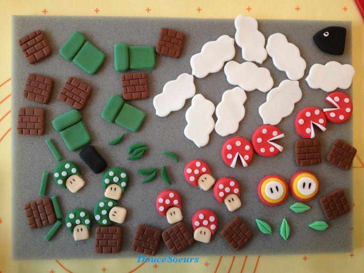 Gâteau Mario Bros