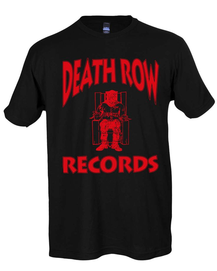 Death Row Records T Shirt 2pac Shirt Death Row Tee Snoop Dogg by SterlingPrintShop on Etsy