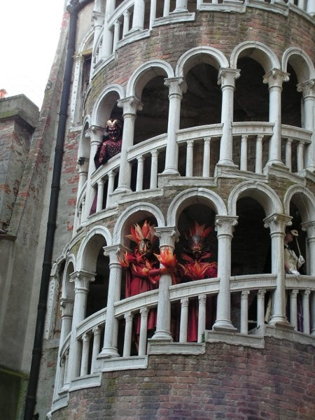 Scala Contarini del Bovolo, Venice.