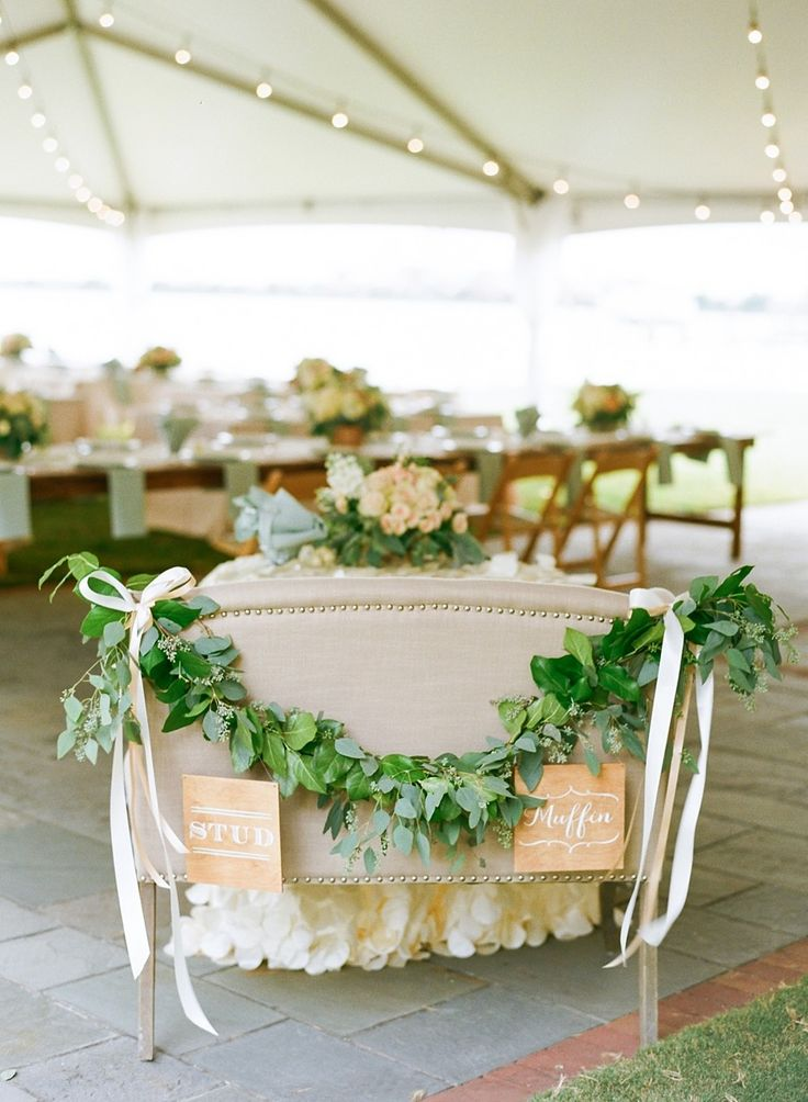 Photography: Jodi Miller Photography - www.jodimillerphotography.com | | Greenery and Floral Garland Wedding Decoration | fabmood.com #garland #weddingreception