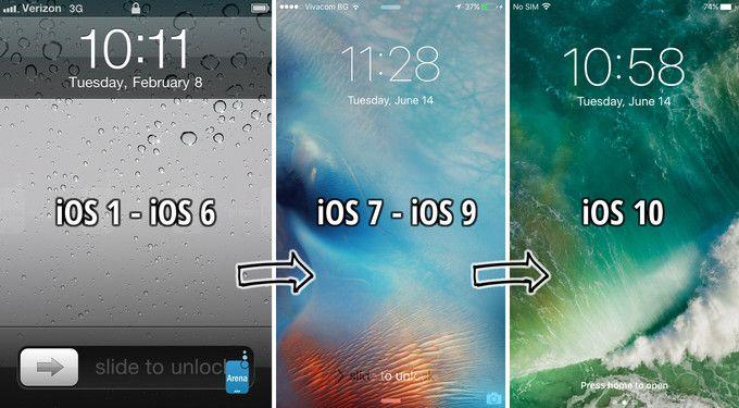 Kaydırarak Kilit Açma Özelliği iOS 10 ile Tarih Oldu!
