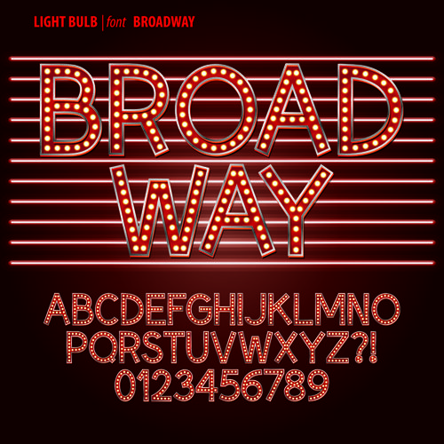 broadway fonts free download