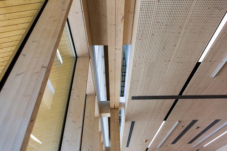 Haltia's interior. Photo: Paavo Lehtonen