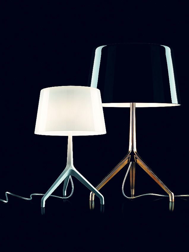 Lumiere xxl xxs tavolo by foscarini lamps lighting and lightning design