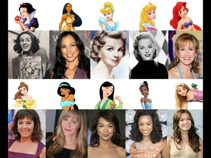 Women with the voice of a princess