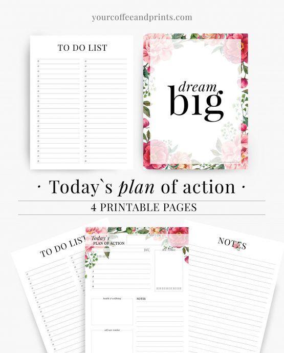 planner template