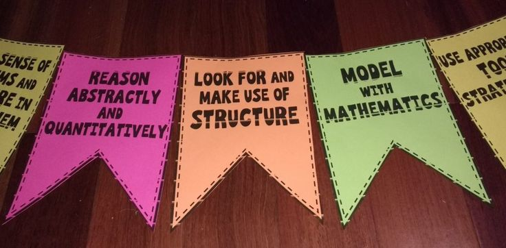 math practice standards pennant