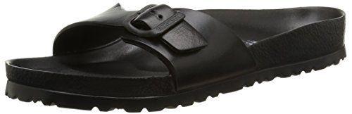 Birkenstock Madrid Eva 128161 Black (Synthetic) Mens Sandals 41 EU ** Click image for more details.