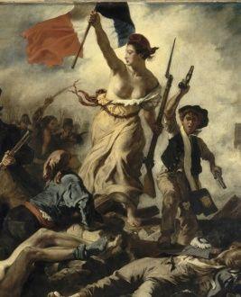 Le 28 juillet 1830 : La Liberté guidant le peuple par Eugène Delacroix
