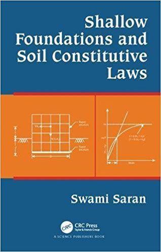 Shallow Foundations and Soil Constitutive Laws
