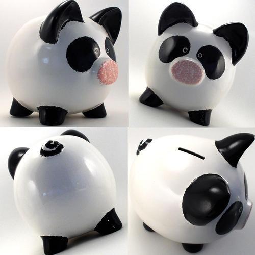 Panda Piggy Bank! | LUUUX